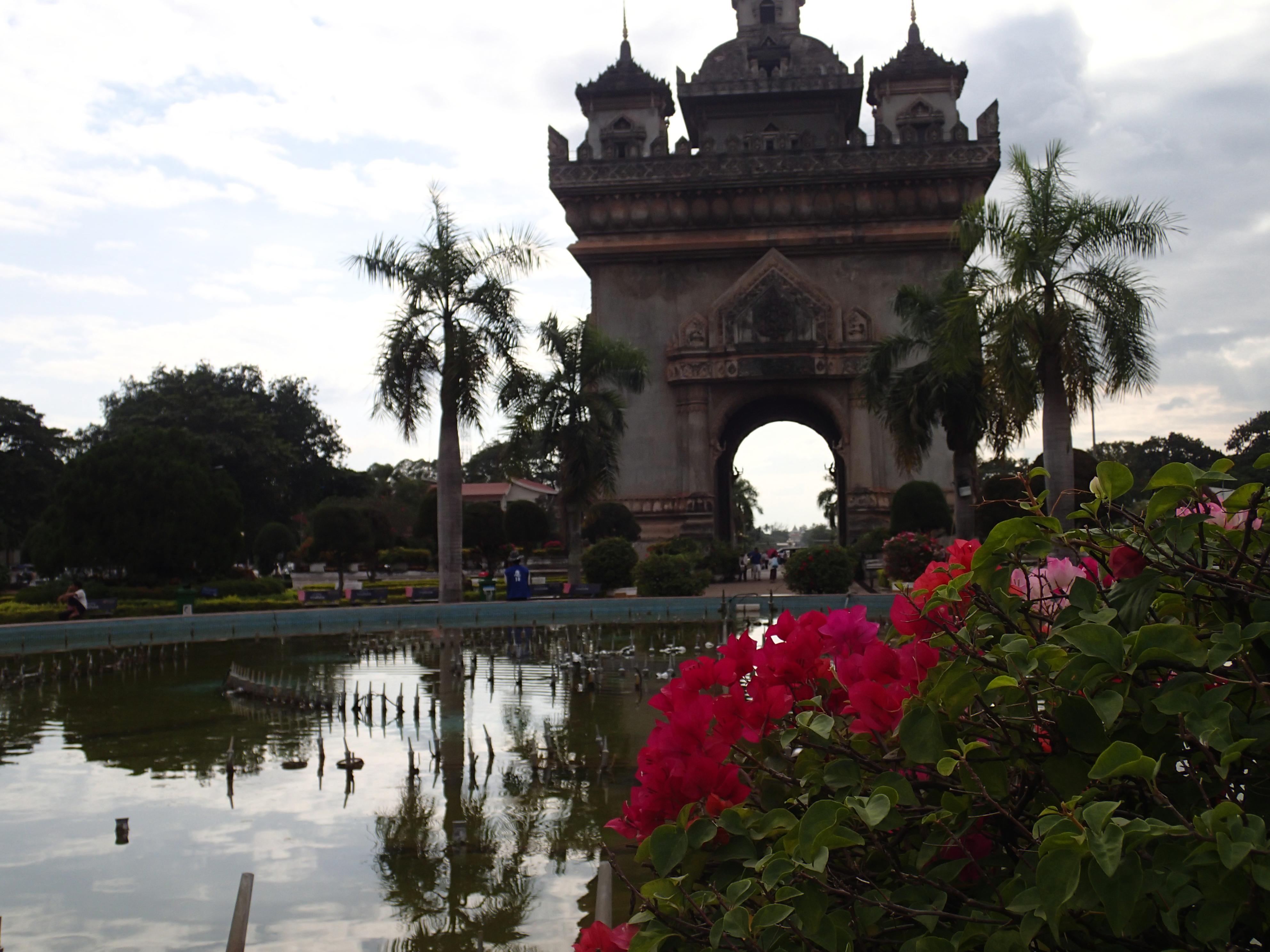 Laos Peace Arch