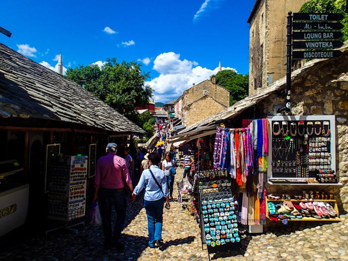 mostar streets